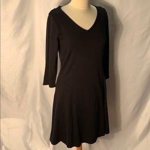 IsaacMizrahLive Simple black Pulliver Dress SZ S